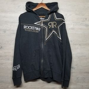 Fox Racing Rockstar Hoodie. AMAZING Graphics! Wow!